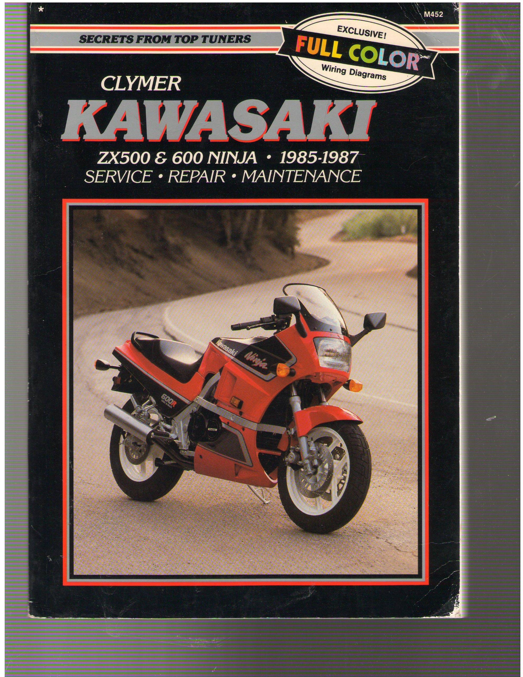 Kawasaki ZX500 & 600 Ninja, 1985-1987: Service Repair ...