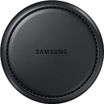 SAMSUNG Dex Station - CPU y Cargador S8 y S8 Plus (Conectores HDMI, USB y LAN), Color Negro [Solo CPU]- Versión Extranjera
