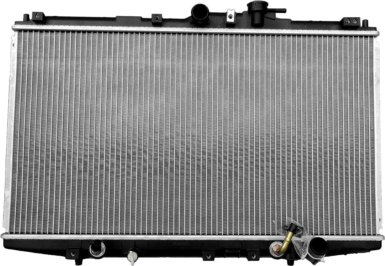 New 2 ROW Aluminum Radiator for Honda Accord MT 2.2L 1994-1997 1995 1996
