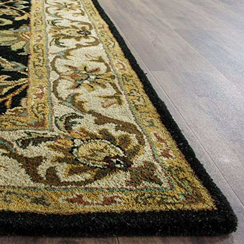 Safavieh Heritage Black Beige Medium Rectangle Rug