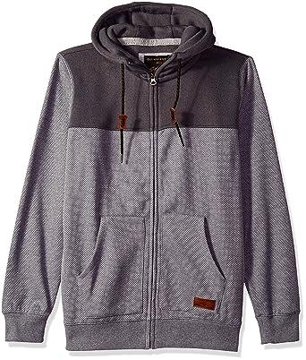 4a7c5349f5 Amazon.com: Quiksilver Men's Keller Block Zip Fleece: Clothing