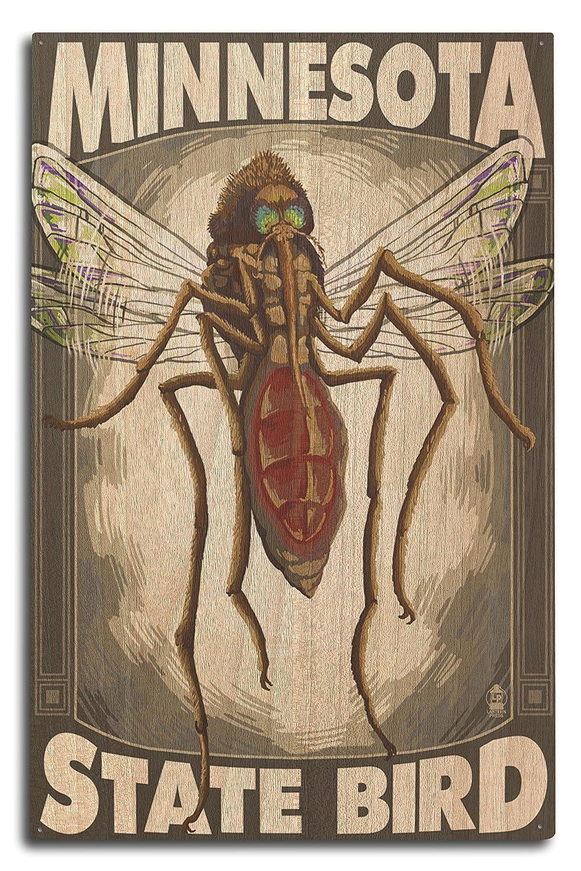 Mosquito – Minnesota State鳥 12 x 18 15 Mosquito Metal Sign – LANT-33630-12x18M B073696PXT 10 x 15 Wood Sign 10 x 15 Wood Sign, EverydayGoldrush:6276be74 --- integralved.hu