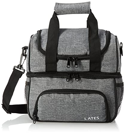 Amazon.com  Lates Lunch Box Insulated Lunch Bag Large Cooler Lunch ... 62c3ef71bf59