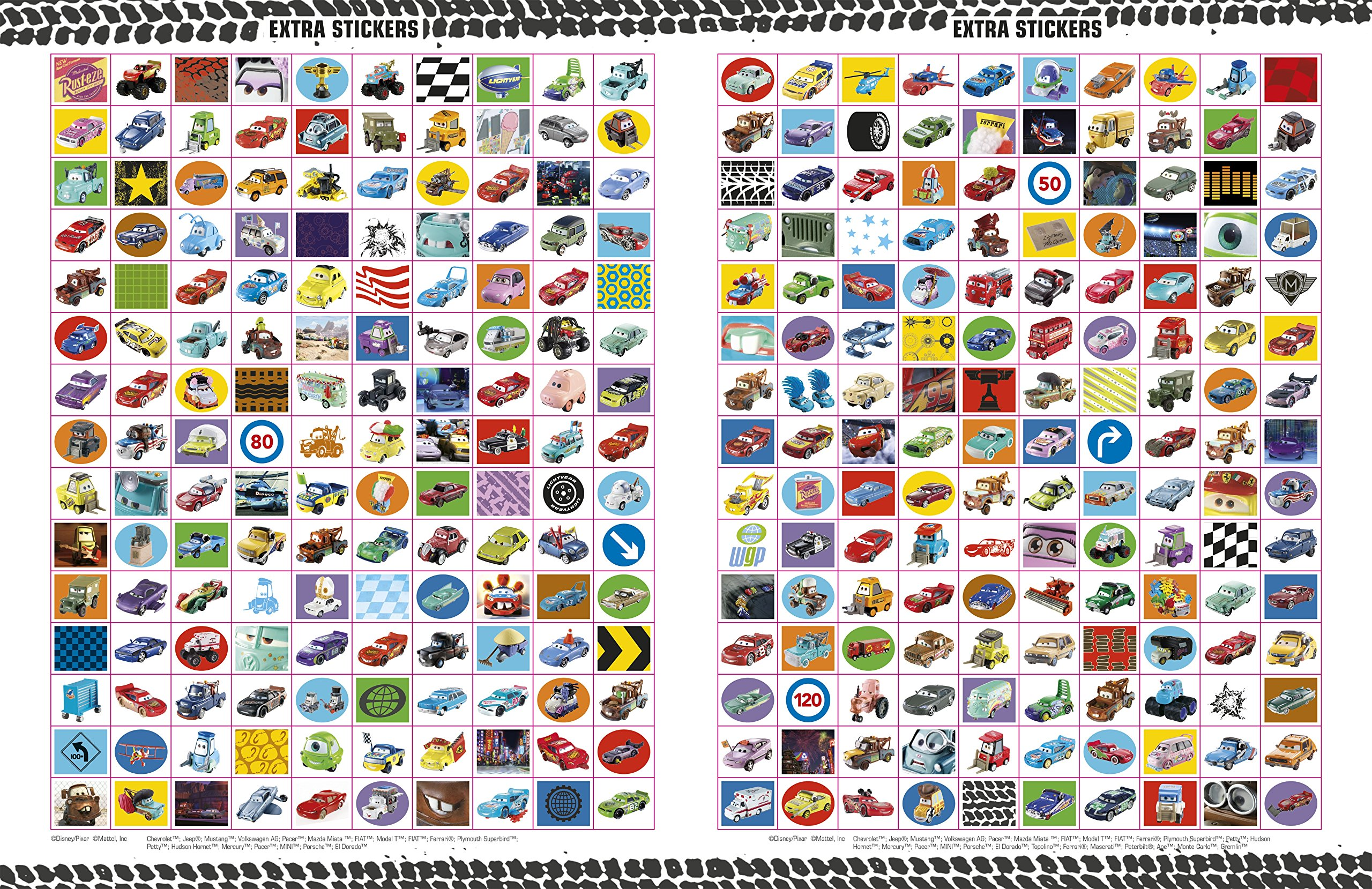 Ultimate Sticker Collection: Disney Pixar Cars (Ultimate Sticker Collections) by DK Publishing Dorling Kindersley (Image #7)