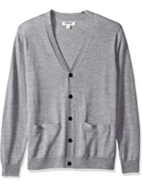 Goodthreads Men's Merino Wool Cardigan Sweater