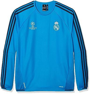 adidas Herren Real Madrid UCL Trainingsoberteil Blau