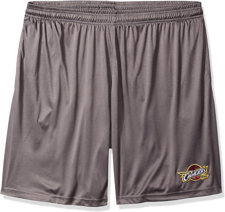 NBA Mens B/&T Poly Fleece Team Shorts