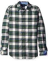 Nautica Men's Slim Fit Pacific Plaid Shirt