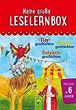 Meine große Leselernbox: Tiergeschichten, Hexengeschichten, Detektivgeschichten: Mit 3 Lesestufen (Leselernbuch)