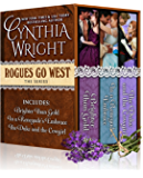 Rogues Go West Boxed Set: Brighter than Gold, In a Renegade's Embrace, The Duke & the Cowgirl