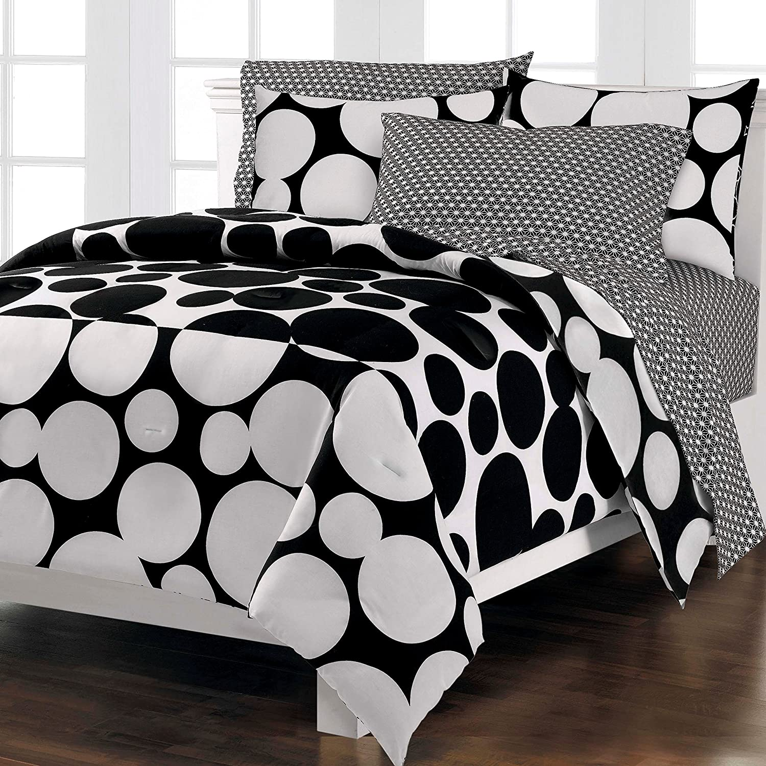Amazon Loft Style Spot The Dot Modern Bedding forter Set