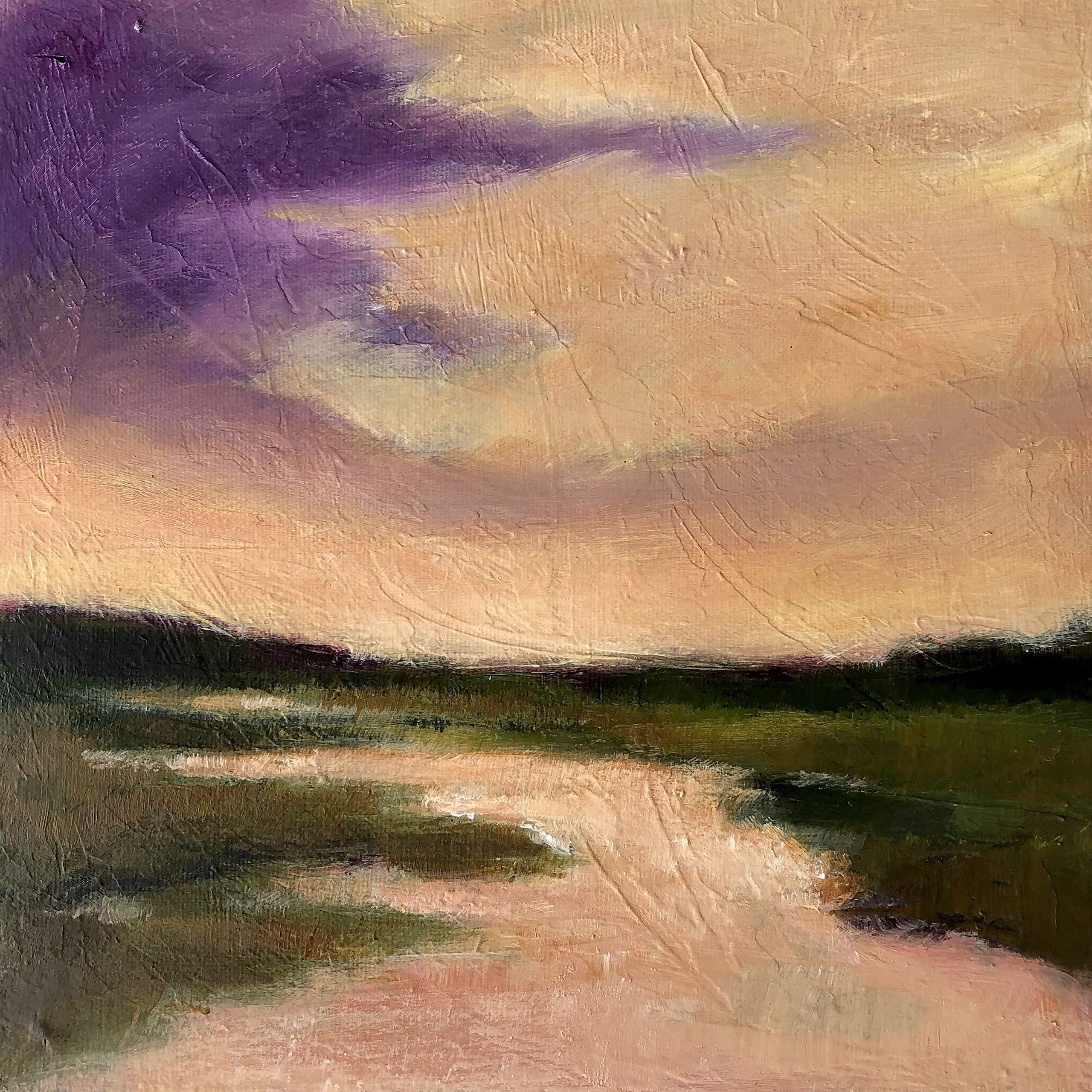 Sunset Marsh by