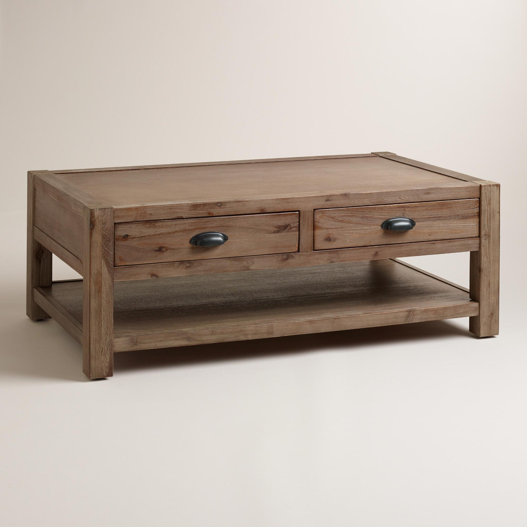 Wood Quade Coffee Table | World Market
