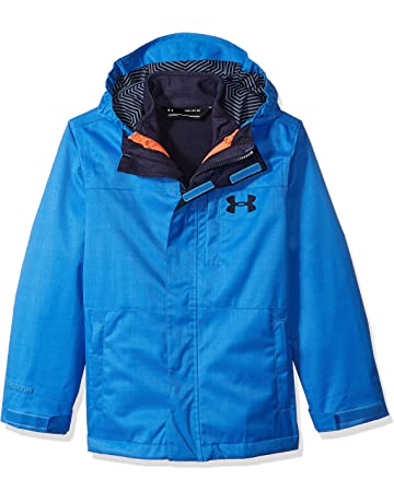 cecb01332 Under Armour Outerwear Boys' UA CGI Wildwood 3-in-1 (Big Kids