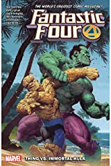 Fantastic Four Vol. 4: Thing vs. Immortal Hulk (Fantastic Four (2018-)) Kindle Edition