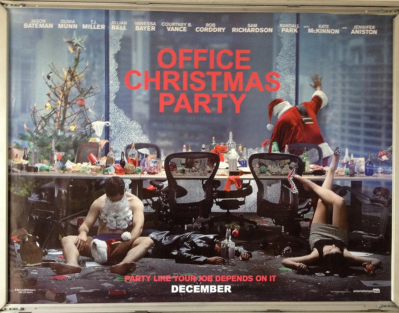 Cinema Poster: OFFICE CHRISTMAS PARTY 2016 (Quad) Kate McKinnon ...