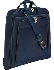 AmazonBasics - Borsa porta abiti Premium, Blu marino, 1 m