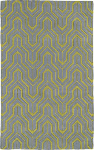 Revolution Collection Hand Tufted Grey Rug 9 6 x 13