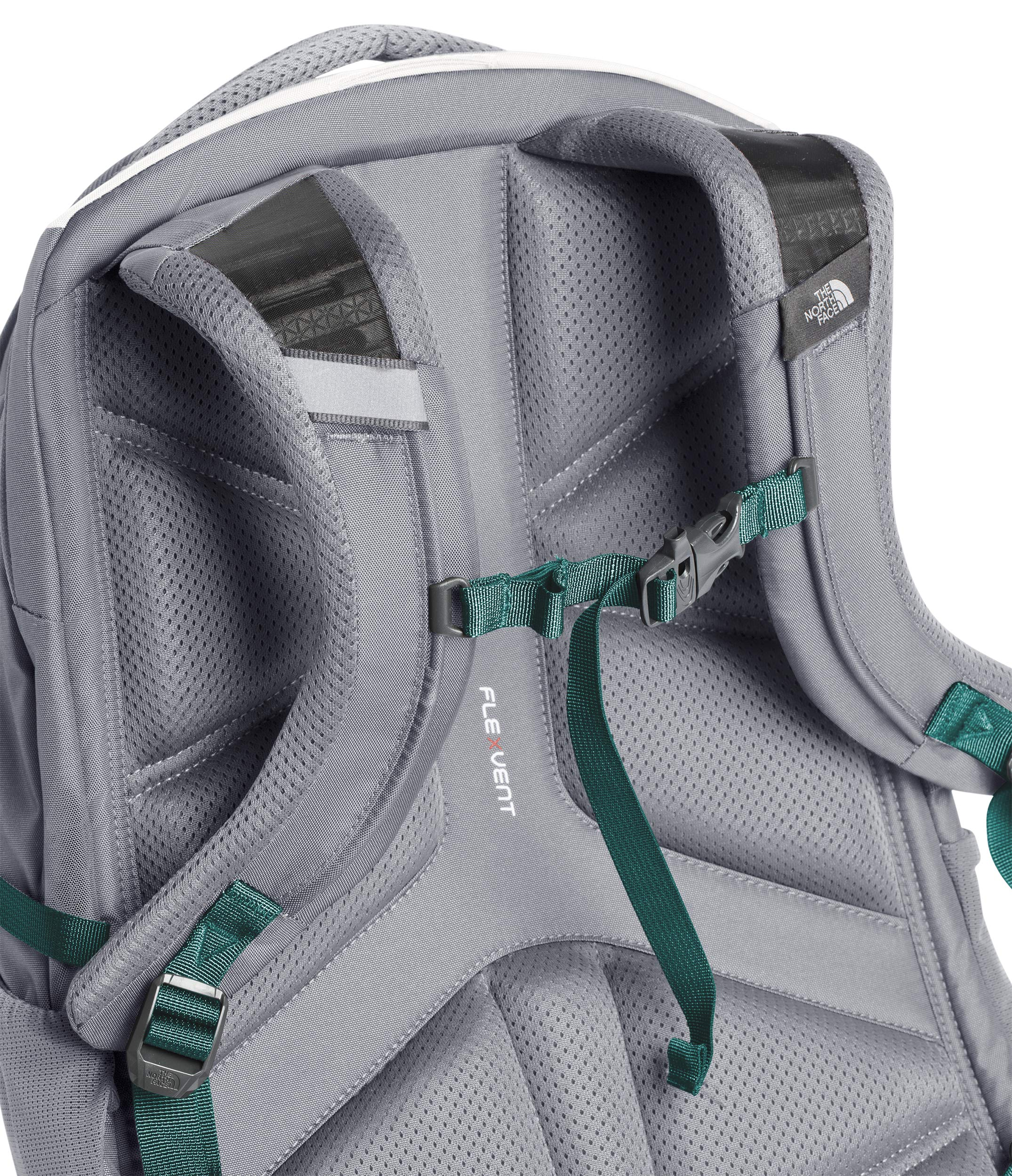 The North Face Women's Borealis Laptop Backpack - 15'' (Tin Grey/Mid Grey) by The North Face (Image #5)