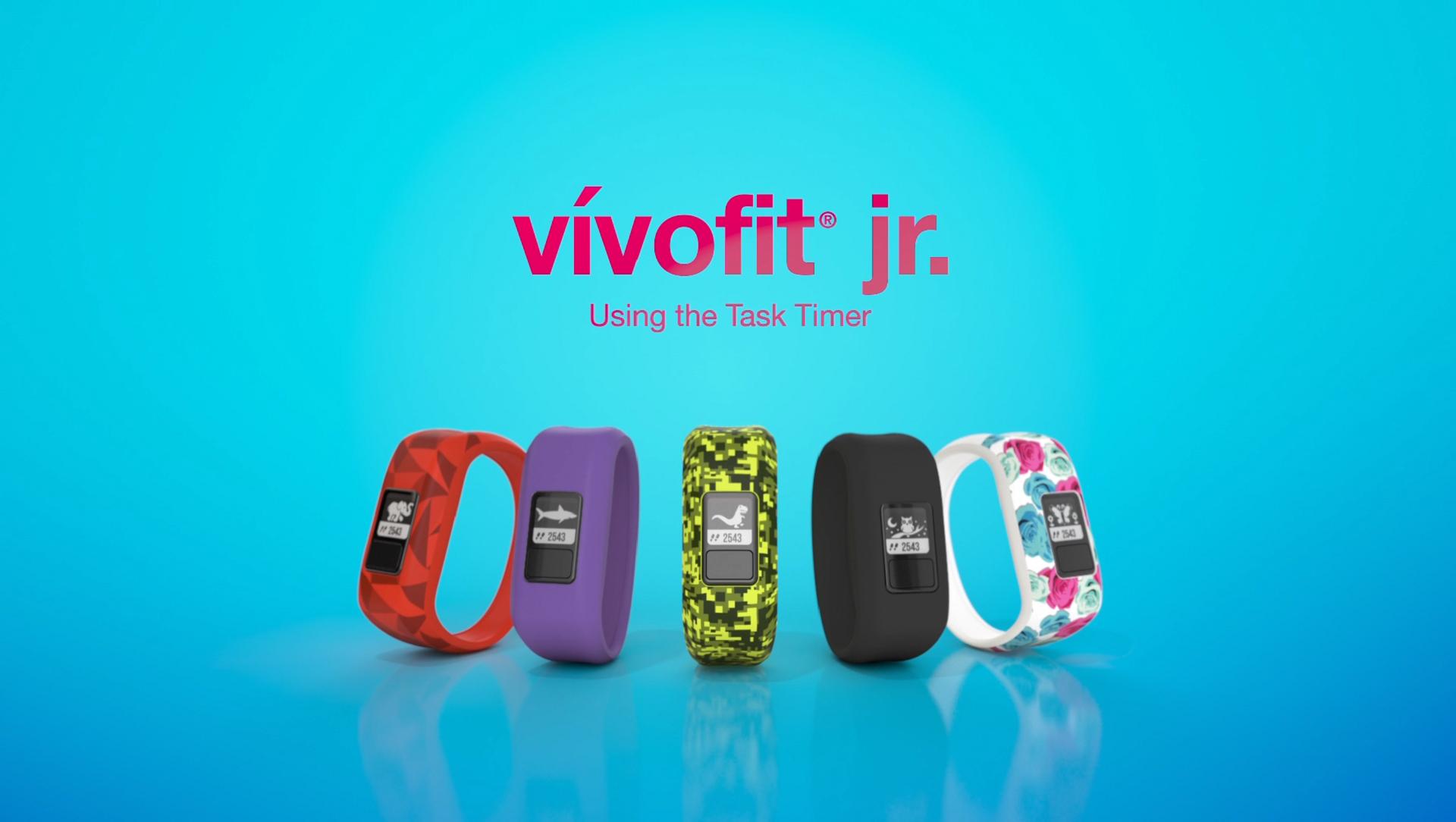 vivofit jr : Using the Task Timer