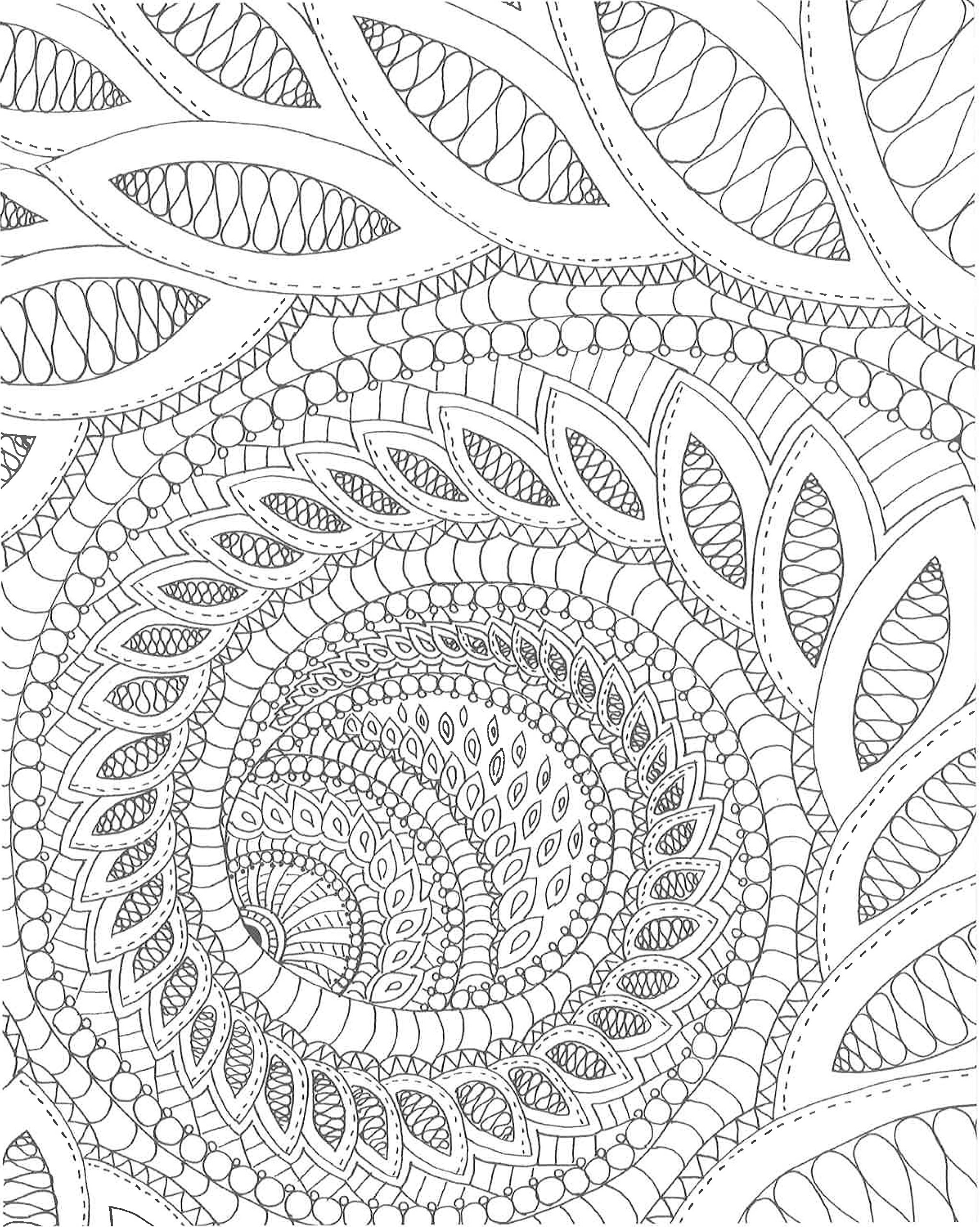 Amazon Com Zendoodle Coloring Calming Swirls Stress Relieving