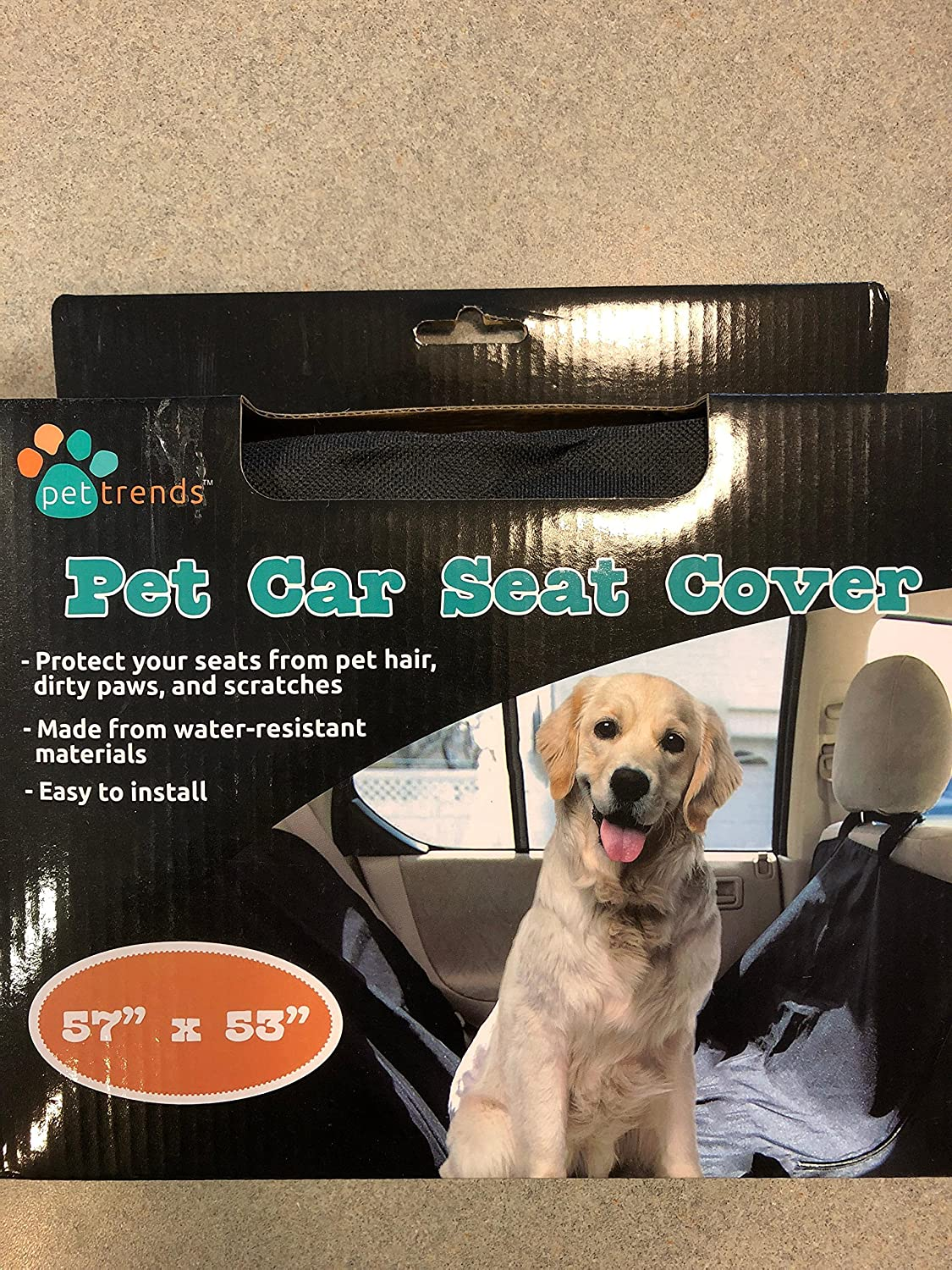 Amazon com : Pet Trends Pet Car Hammock Seat Cover 57