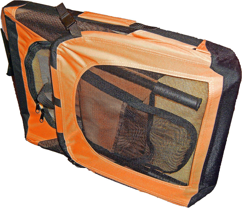 Folding Zippered 360/° Vista View House Pet Crate