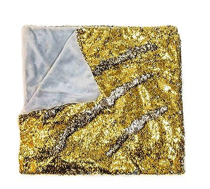 Amazon KOVOT Sequin Mermaid Style Throw Blanket 40 X 40 Simple Silver Sequin Throw Blanket