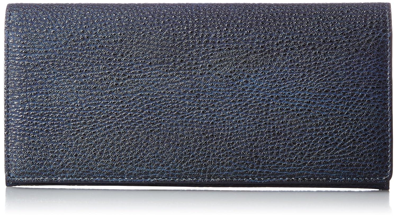 [コローレ] 財布 日本製 メイドインジャパン 黒桟革 漆 ウルシ PRM002 BLK NVY 藍染め(ネイビー) B01M1RODJI