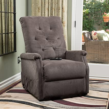 Superieur Warrington Living Room Furniture ~ Fabric Lift Up Recliner Chair (Chocolate)
