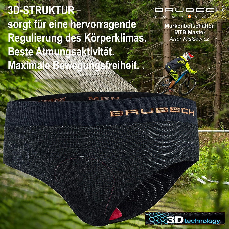Brubeck Mens Mens Cycling Pants with Pad