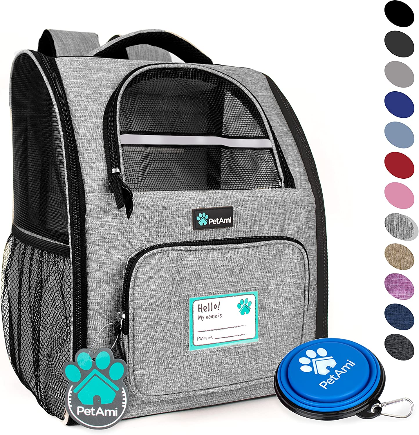 PetAmi Deluxe Pet Carrier