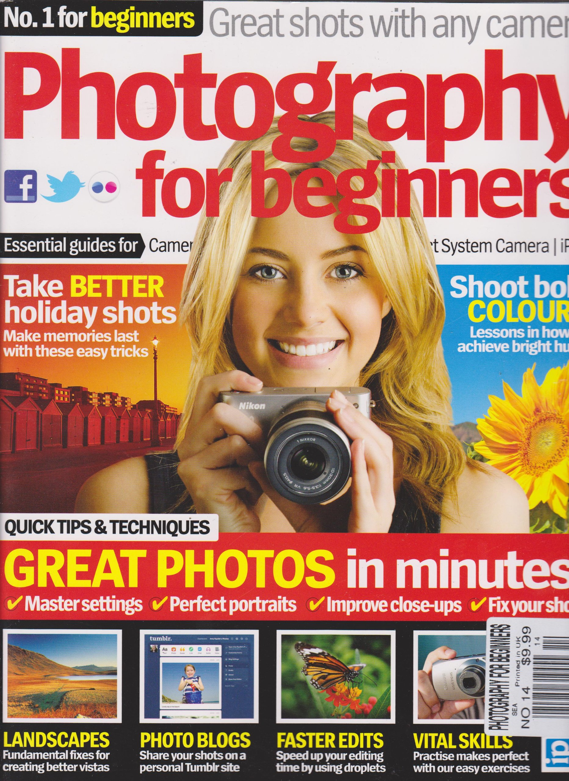 Read Online Photography for Beginners (Great Photos in Minutes, Number 14) pdf epub