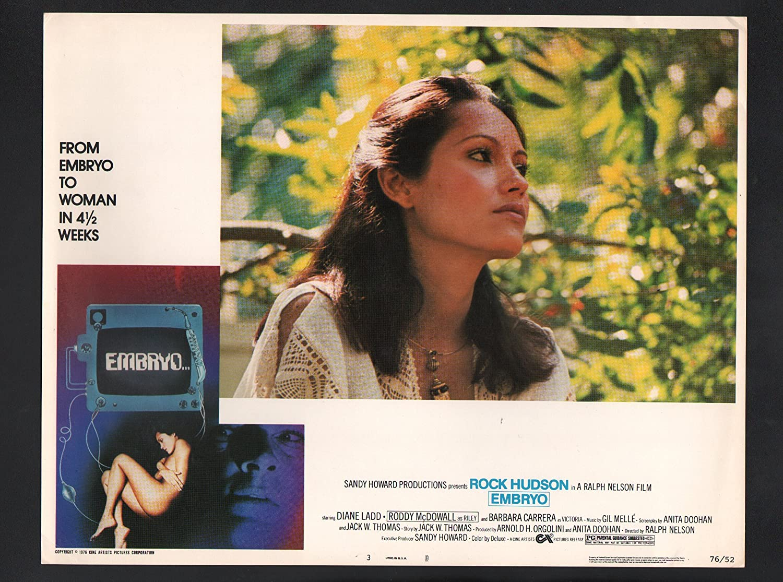 1976 Movie Poster Embryo