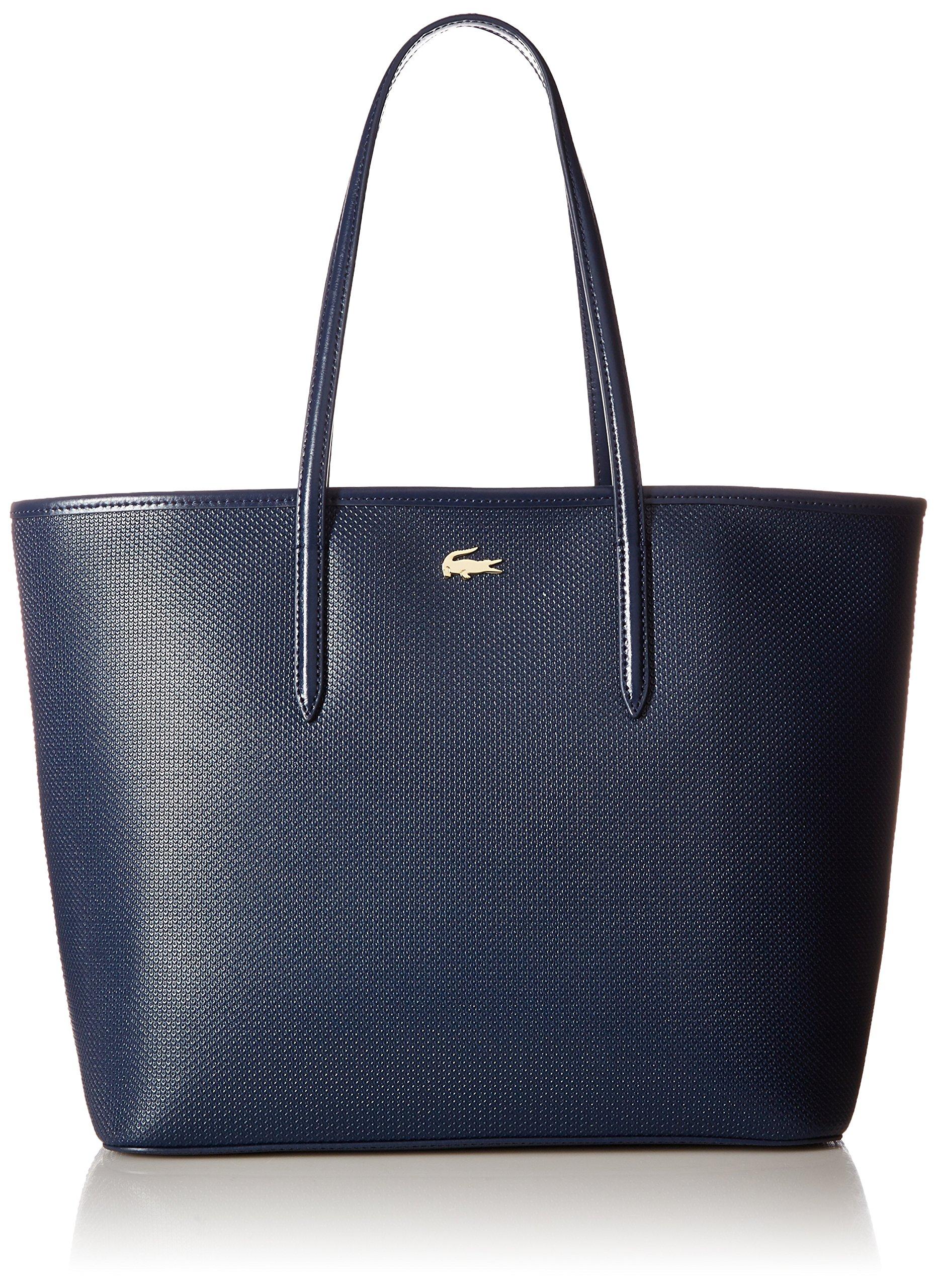 Lacoste Chantaco Zip Shopping Bag, Peacoat