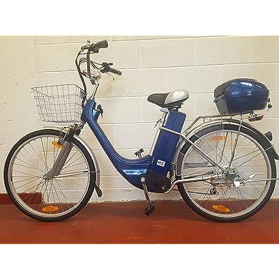 Vélo électrique Vélo Moteur de 250W 66cm Roues City E-Bike hybride Route Ebike
