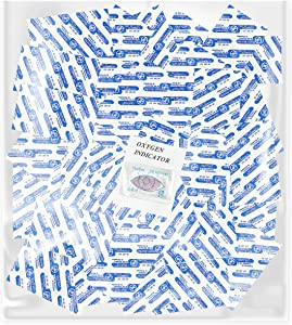 Dry-Packs Perfect for Prepping Long Term 100-100cc Oxygen Absorbers for Vacuum Seal or Mylar Bag Food Storage, One Size, White