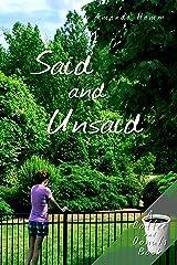 Said and Unsaid (Coffee and Donuts Book 1) Kindle Edition