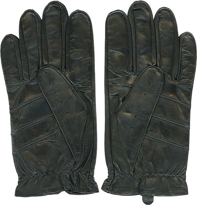 Leather Driving Gloves For Men Sheepskin Leather Unlined Sure Grip Ferrari By Grandoe Amazon Co Uk Sports Outdoors