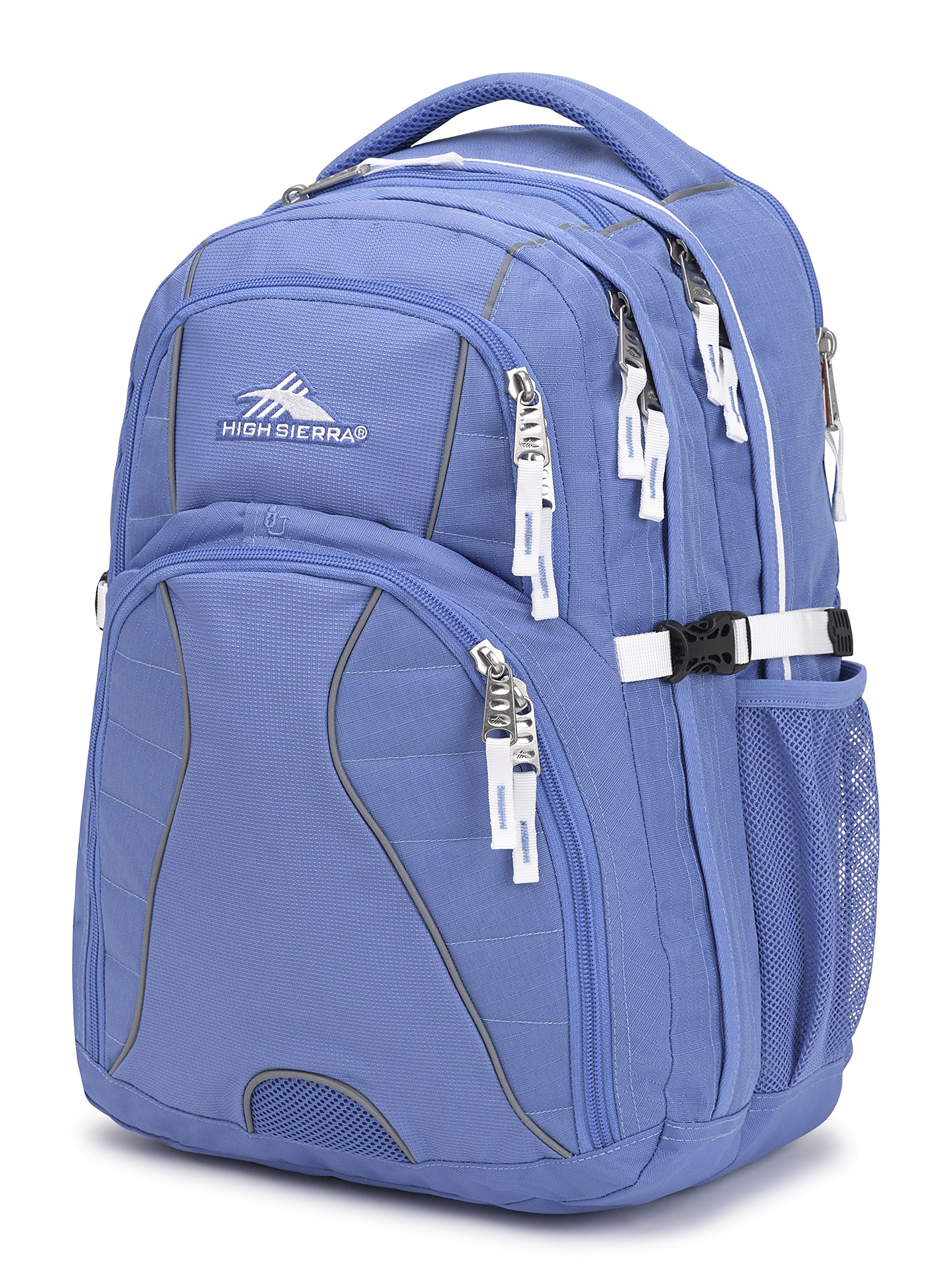 High Sierra Swerve Laptop Backpack, Lapis/White