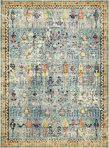 Amazon Com Vintage Modern And Traditional Rugs Feet Troezen