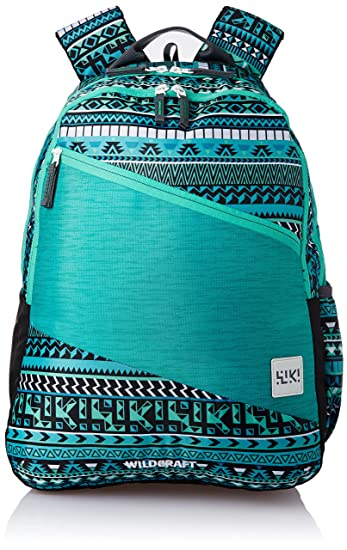Wildcraft Polyester 29 Ltrs Blue School Backpack (Wiki 2 Aztec 2)