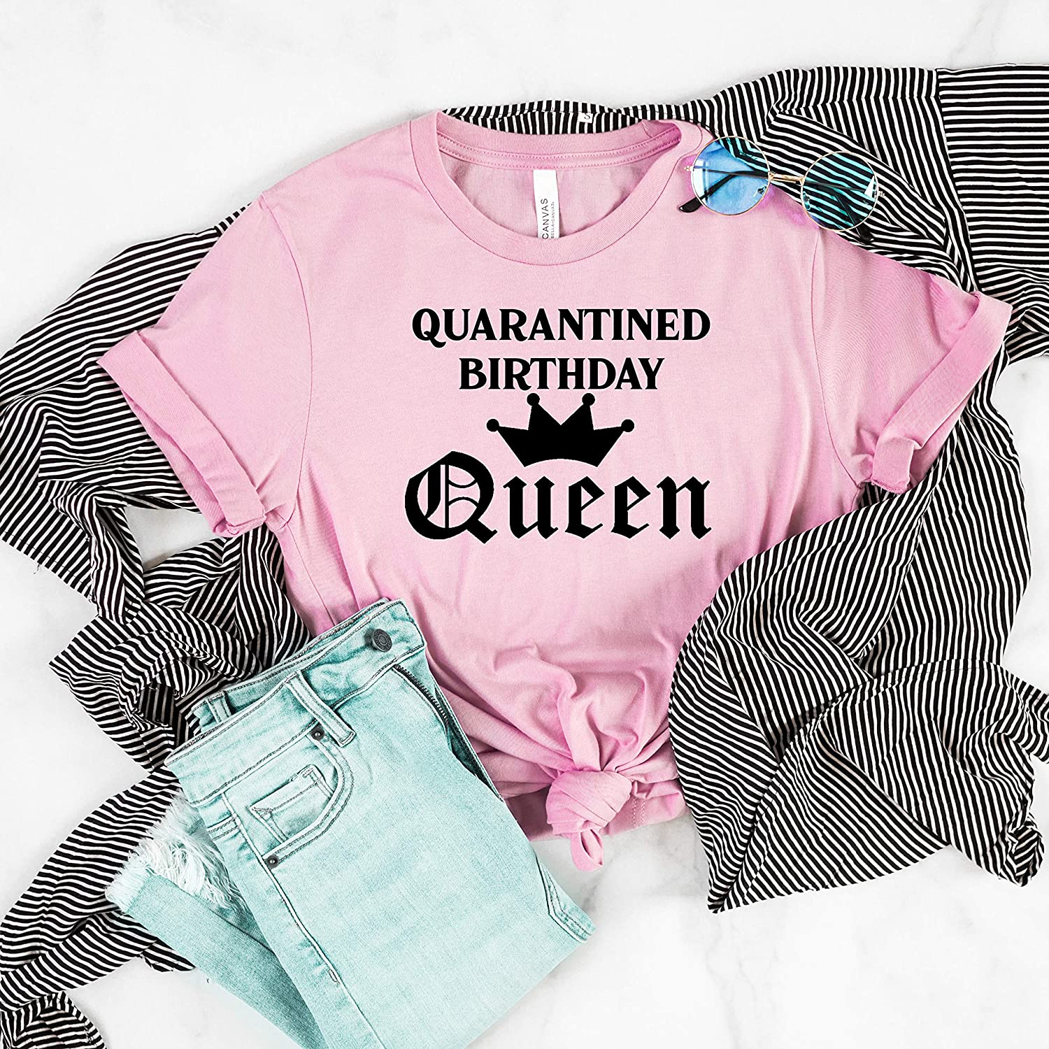 Real Princesses Dont Come in a Dress Funny Birthday Women Sweatshirt tee