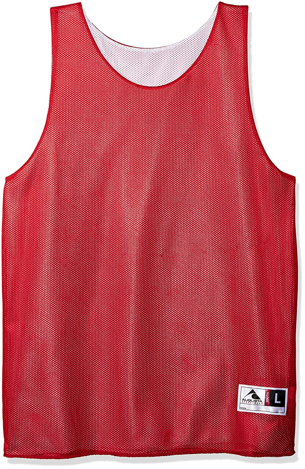 449156a073d8 Amazon.com   Augusta Sportswear Teen-Boys Youth Reversible Mini Mesh League  Tank   Clothing