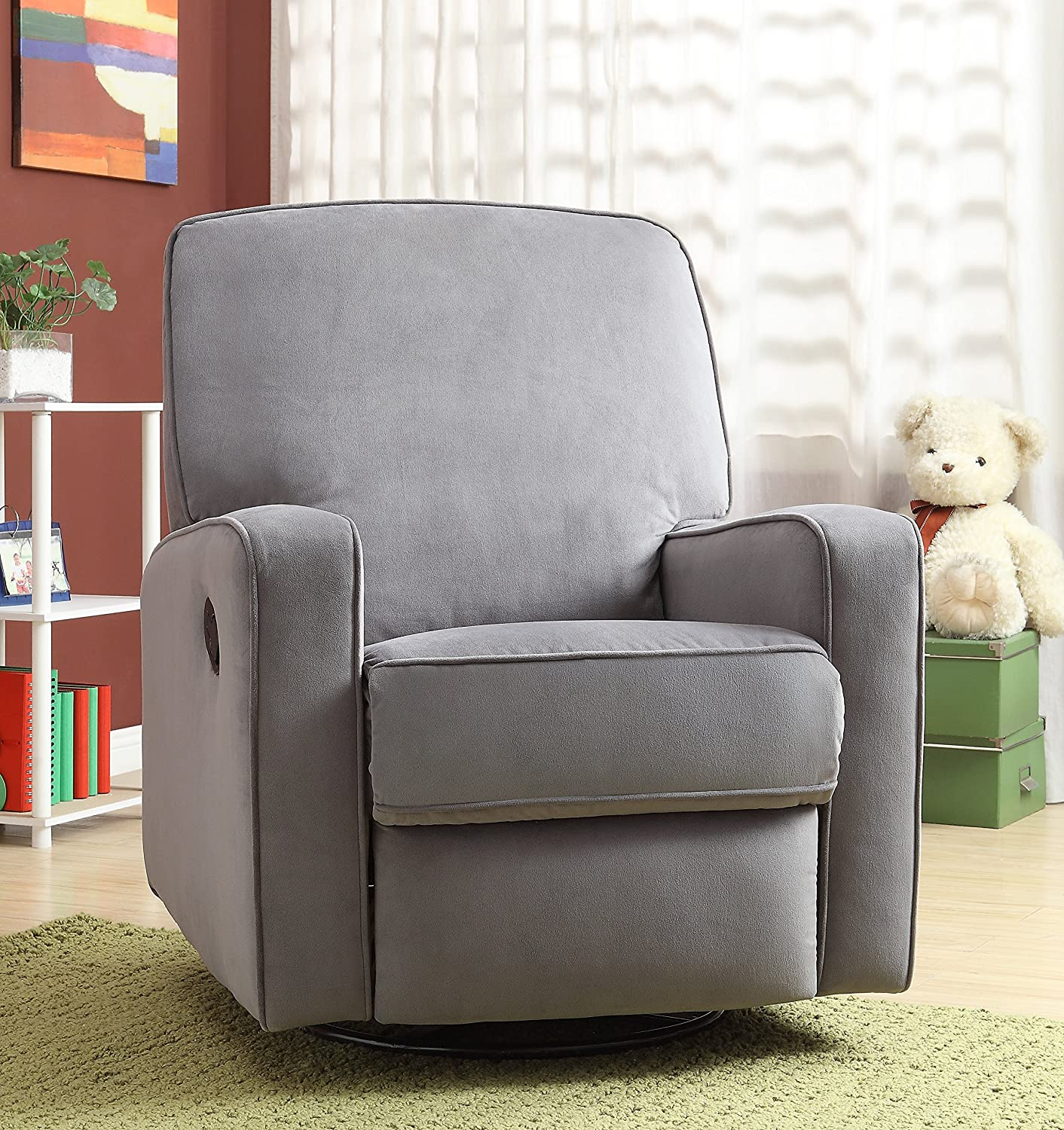 Pulaski Sutton Swivel Glider Recliner : best recliner for nursery - islam-shia.org