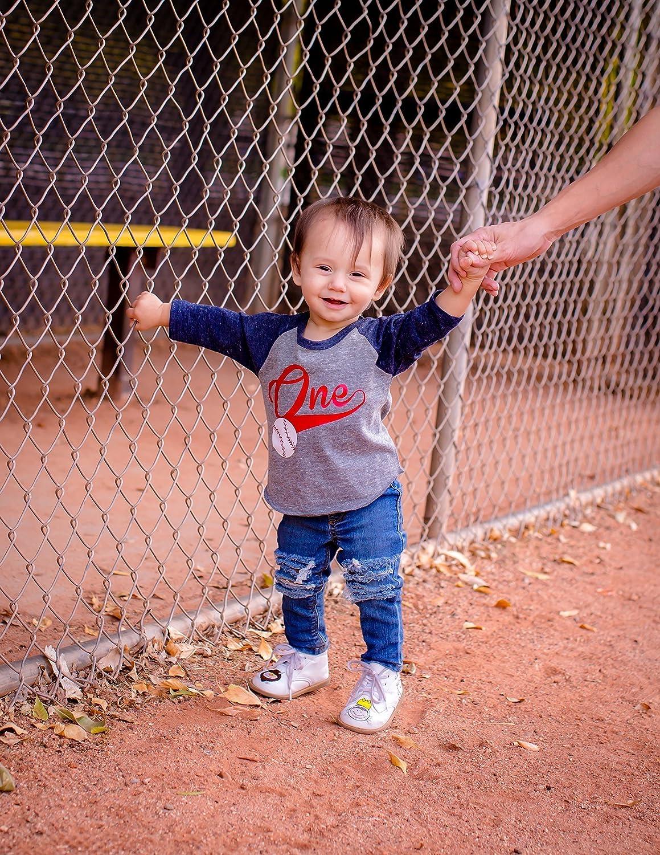 1st Birthday Boys Baseball Shirt