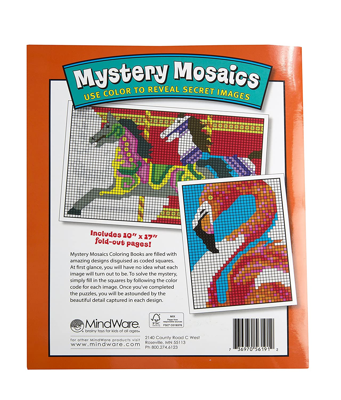 amazon com mystery mosaics book 1 toys u0026 games