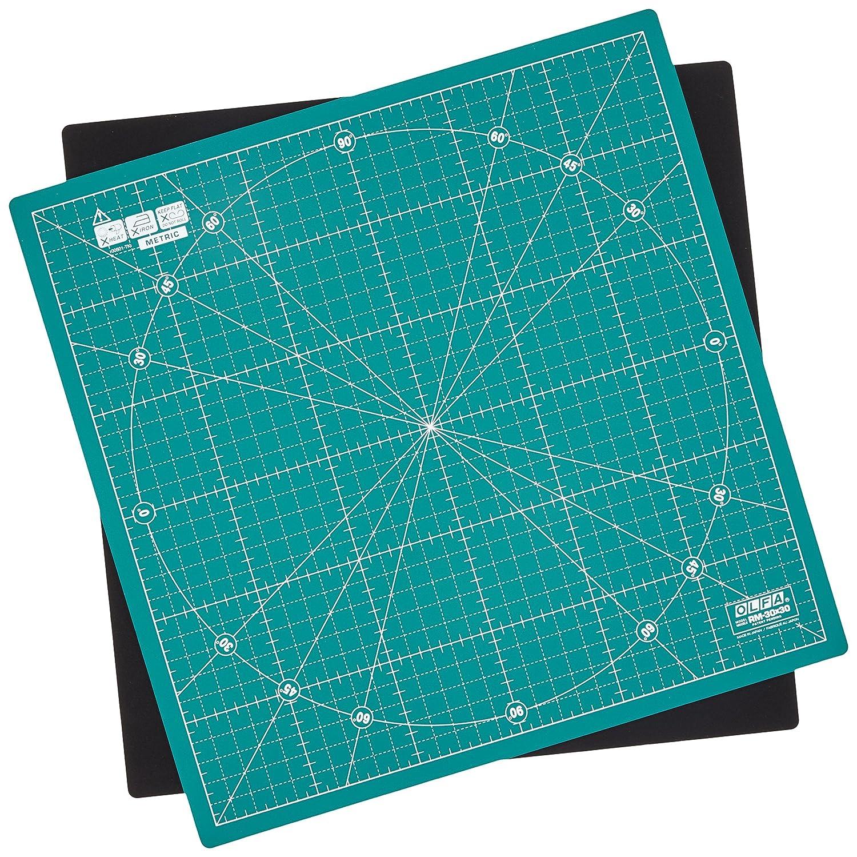 Prym - Tavolozza da taglio girevole, 30 x 30 cm, colore: Verde PRYM_610404-1