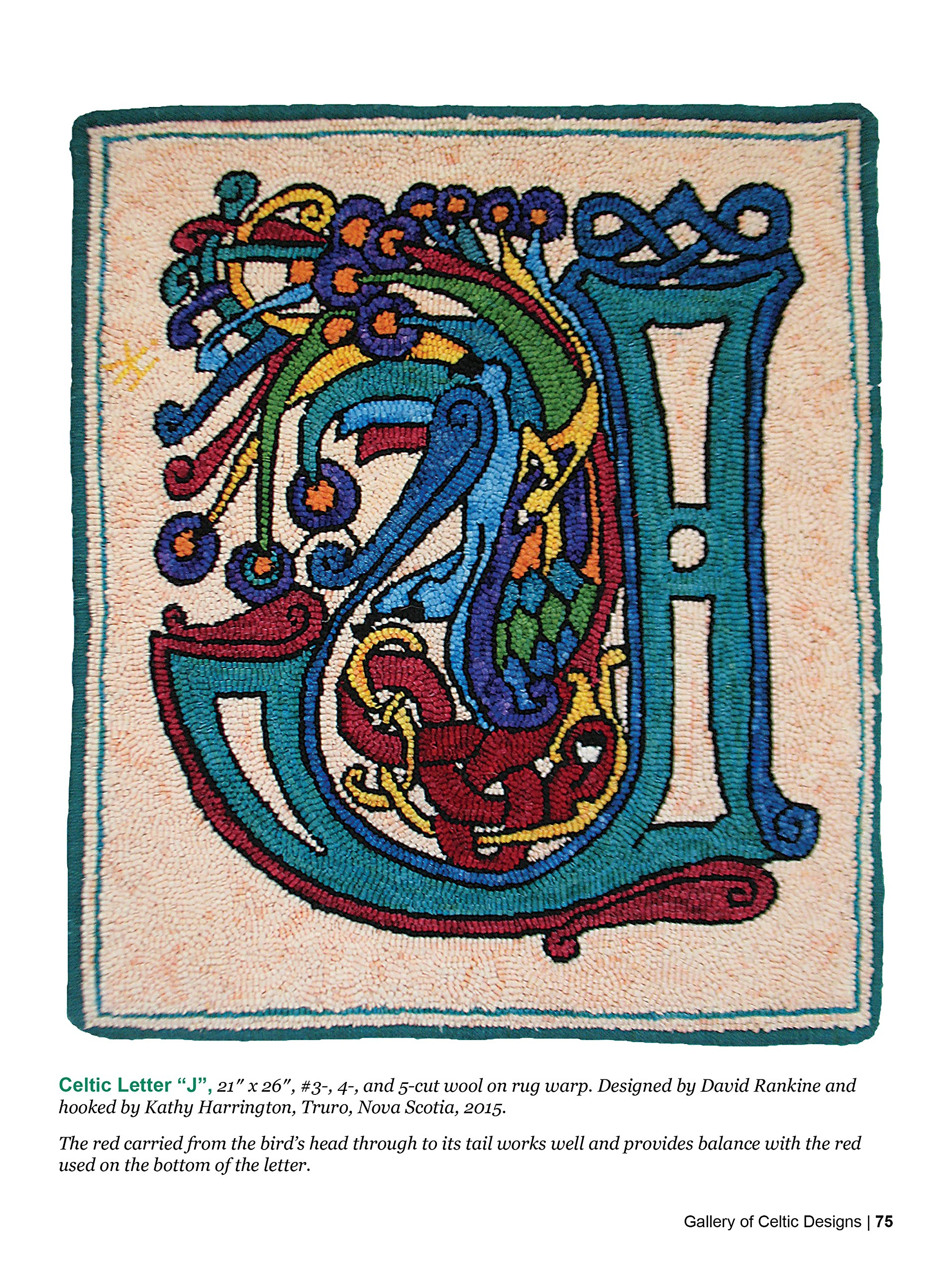 Hooked on Celtic Rugs: A Fresh Approach to Celtic Art in Rug Hooking