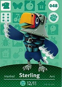 Animal Crossing Happy Home Designer Amiibo Card Sterling 048/100